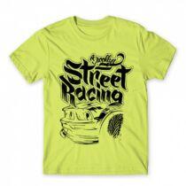 Brooklyn Street Racing - férfi póló