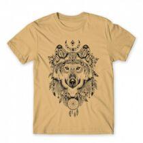 Farkas álomfogóval férfi póló