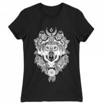 Farkas álomfogóval női póló