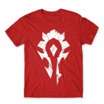 World of Warcraft Horde logó férfi póló