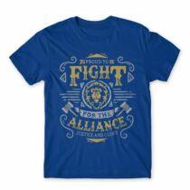 World of Warcraft Proud to fight Alliance férfi póló