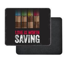 Az Ötödik elem - Love is Worth SAVING műbőr egérpad
