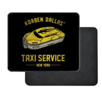 Az Ötödik elem - Korben Dallas Taxi Service műbőr egérpad