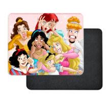 Bolondos Disney hercegnők műbőr egérpad