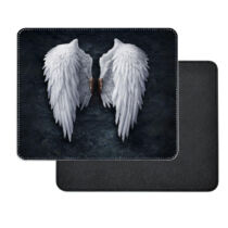 Fehér angyal szárny műbőr egérpad