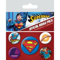 Superman - Kitűző csomag