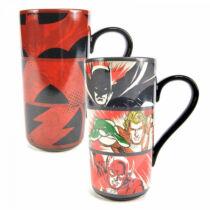 DC Comics - Az Igazság Ligája hőre változó latte bögre
