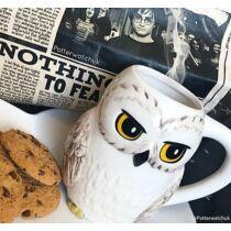 Harry Potter 3D alakú Hedwig bögre