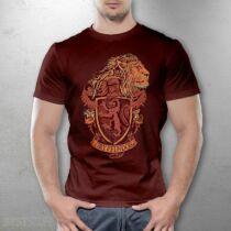 Harry Potter Griffendél ház férfi póló