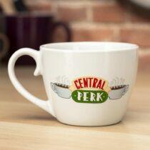 Jóbarátok Central Perk cappuccino bögre