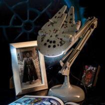 Star Wars Millenium Falcon állítható asztali lámpa