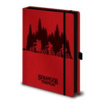 Stranger Things prémium jegyzetfüzet, A5