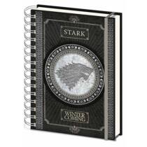 Game Of Thrones (Stark) A5 Wiro Notebook