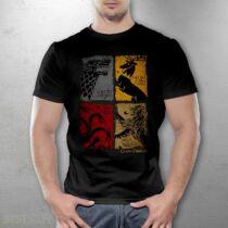 Trónok Harca házak férfi póló