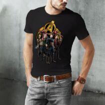 Marvel Avengers Infity War férfi póló