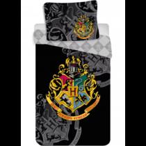 Harry Potter fekete Hogwarts ágyneműhuzat