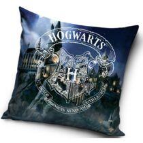 Harry Potter Hogwarts fehér logó párnahuzat