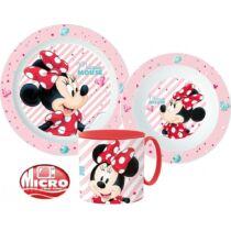 Disney Minnie mikrózható étkészlet