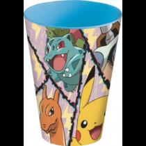 Pokémon nagy műanyag pohár