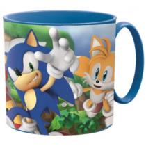 Sonic kicsi műanyag bögre