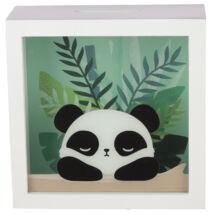 Panda ablakos persely