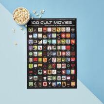 100 kultuszfilm kaparós poszter