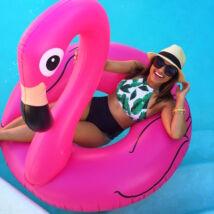 Flamingó óriás úszógumi