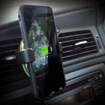 QI univerzális vezeték nélküli autós telefontöltő