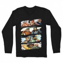 Bud Spencer és Terence Hill férfi hosszúujjú póló