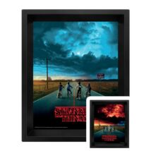Stranger Things Mind Flayer hologramos poszter kerettel