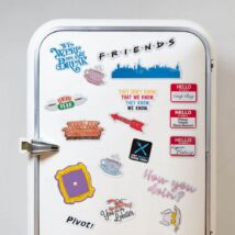 Jóbarátok ikonikus hűtőmágnes szett