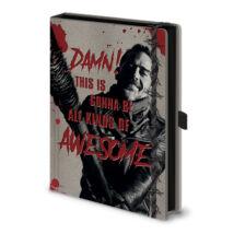 The Walking Dead - Negan jegyzetfüzet
