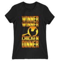Pubg - Winner Winner Chicker Dinner női póló