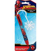Pókember négyszínű toll