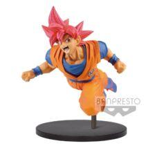 Dragon Balll Super - Super Saiyan God Goku szobor