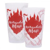 Harry Potter - Tekergők térképe hidegre változó pohár
