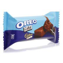 Oreo sütemény vanília töltelékkel csokoládé mázzal borítva