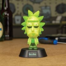 Rick és Morty - Rick 3D ikon hangulatvilágítás