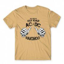 Így néz ki egy AC/DC rajongó férfi póló