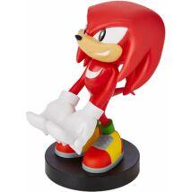 Sonic Knuckles telefon/kontroller töltő figura