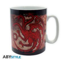 Trónok harca - Targaryen nagyméretű porcelán bögre