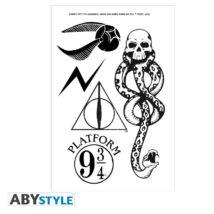 Harry Potter tetoválás szett