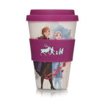 Jégvarázs Elsa és Anna utazó bögre