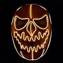 Tök fej (Halloween) LED maszk