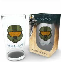 Halo 5 üvegpohár