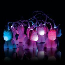 Unikornis fényfüzér hangulatvilágítás két változatban