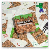 Minecraft francia kártya