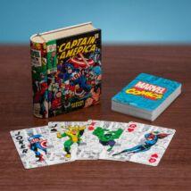 Marvel képregény karakter francia kártya