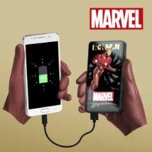 Iron Man - Vasember Power bank külső akkumlátor 6000 mAh