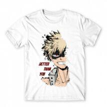 My Hero Academia - Katsuki Bakugo férfi póló